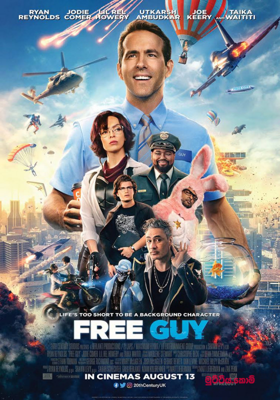 FREE GUY 2021 RELEASED